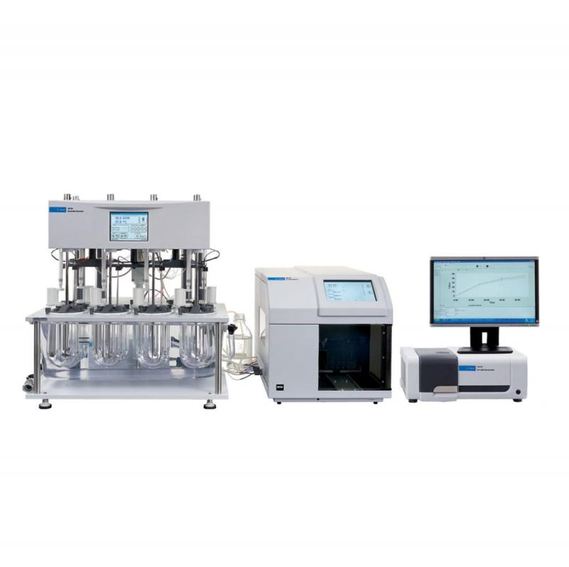 Agilent Cary 60 küvettaváltós UV kioldódásvizsgáló rendszer